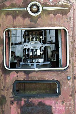Premium Gas Photograph - Vintage Gas Pump by Alan Look