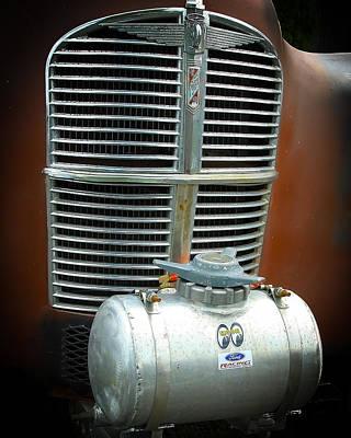 Mooneye Photograph - Vintage Gasser by Steve McKinzie