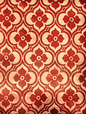 Vintage Wallpaper Print by Tom Gowanlock