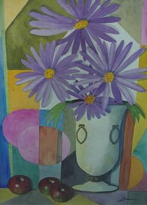 Violetas Original by Juan  Salazar