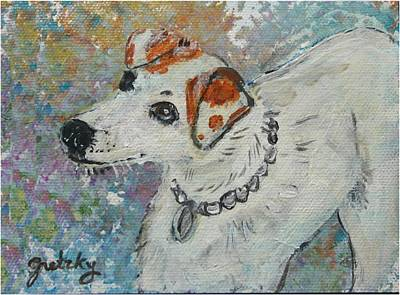 Dog Painting - Virginia by Paintings by Gretzky