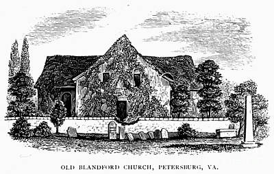 Virginia: Petersburg Church Print by Granger