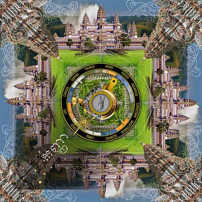 Angkor Digital Art - Virgo Kanyaa by Bruno Levy