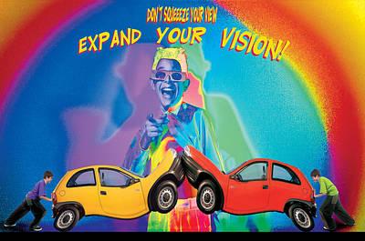 Vision Print by Mauro Celotti