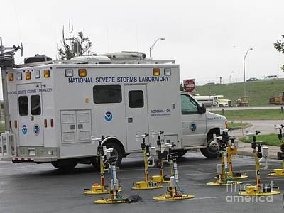 Vortex2 Field Command Vehicle Print by Science Source
