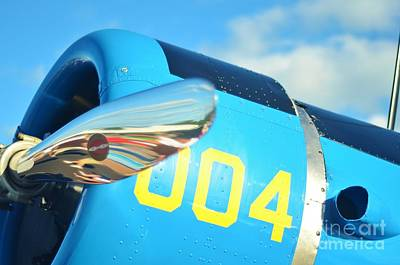 2011 Vna Stuart Airshow Wibada Photograph - Vultee Bt-13 Valiant Nose by Lynda Dawson-Youngclaus