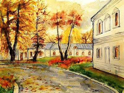 W 19 Moscow Print by Dogan Soysal