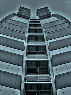 Fenster Photograph - W Barcelona by Juergen Weiss
