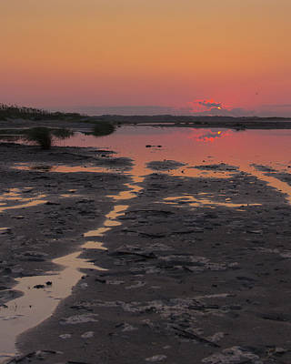 Scenic Photograph - Waiting For The Sunrise by Alan Raasch