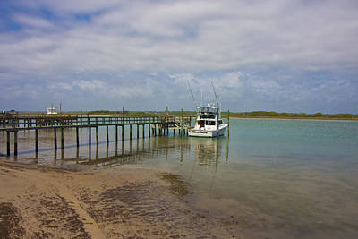 Topsail Photograph - Waiting On The Captain by Betsy Knapp