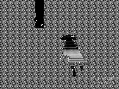 Walking The Dog Digital Art - Walking The Dog  by Toteto Toteto