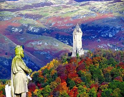 Wallace Autumn Colours Print by Patrick MacRitchie