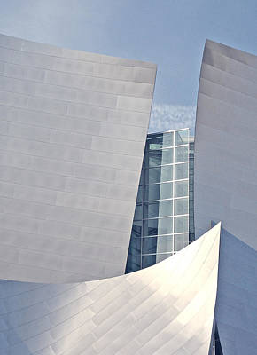 La Philharmonic Photograph - Walt Disney Music Hall Detail by Loud Waterfall Photography Chelsea Sullens