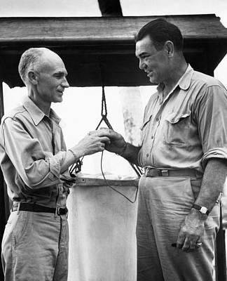 Jack Dempsey Photograph - War Correspondent Ernie Pyle by Everett