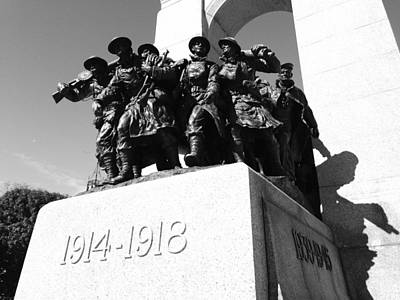 War Memorial Print by Kevin Gilchrist