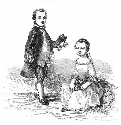 Washingtons Stepchildren Print by Granger