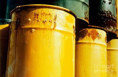 Waste Drums Print by Science Source