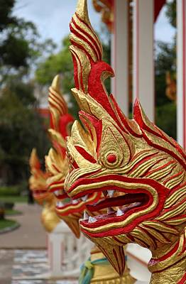 Wat Chalong 3 Print by Metro DC Photography