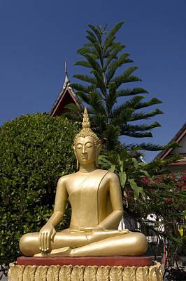 Wat Mai Buddha II Print by Gloria & Richard Maschmeyer
