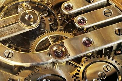 Watch Interior Print by Laguna Design