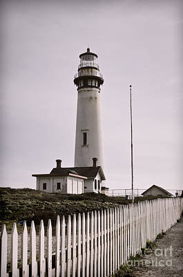 Lighthouse Photograph - Watch Tower by Heather Applegate