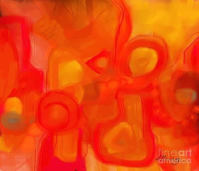 Digital Art - Watchful Eye by D Perry