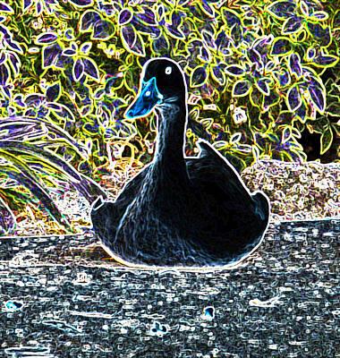 Etc. Digital Art - Watching You by Dennis Dugan
