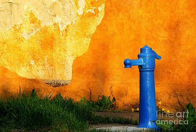 Stone Trough Photograph - Water Well by Odon Czintos