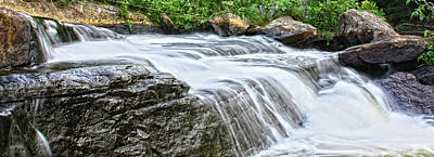 Waterfall Print by Photography Art