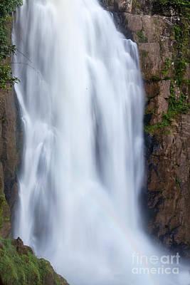 Waterfall In Deep Forest  Original by Anek Suwannaphoom