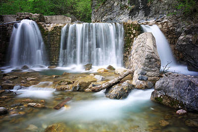 Outdoors Photograph - Waterfall by Ivan Slosar