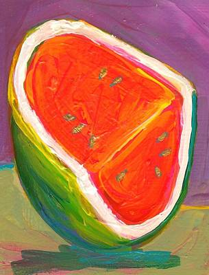 Watermelon Mixed Media - Watermelon by Sage Gibson