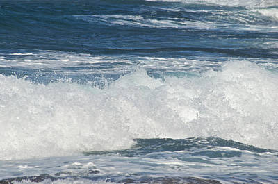 Waves Breaking 7964 Print by Michael Peychich