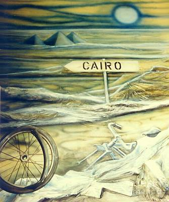 Cairo Mixed Media - Way To Cairo by Eva-Maria Di Bella