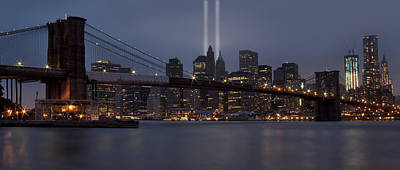 Nyc Photograph - We Will Never Forget by Susan Candelario