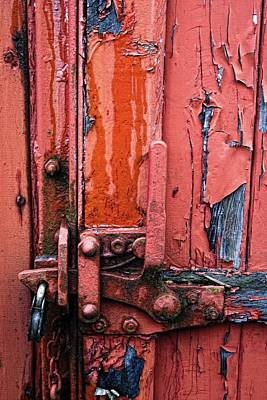 Weathered Lock Print by John Short
