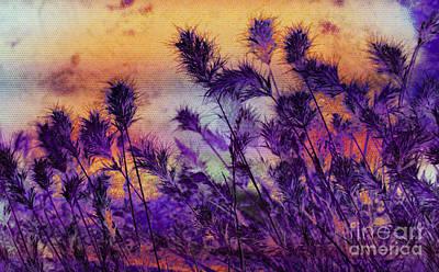 Weeds  Print by Julie Lueders