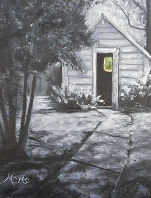 Weide House Shed Original by Catherine Stalcup