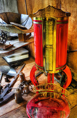 Weigh Your Goods - General Store - Vintage - Nostalgia Print by Lee Dos Santos