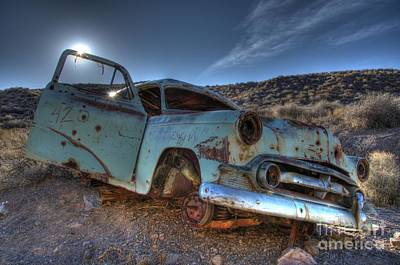 Wrecked Cars Photograph - Welcome To Death Valley by Bob Christopher
