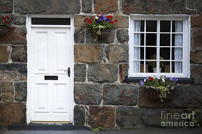 Snowdonia Photograph - Welsh Cottage Detail by Jane Rix