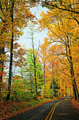 Fall Photograph - West Virginia Wandering 2 by Steve Harrington