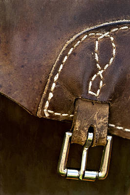 Horse Photograph - Western Chaps Detail by Susan Candelario