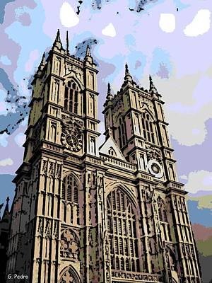 Westminster Abbey Digital Art - Westminster Abbey by George Pedro
