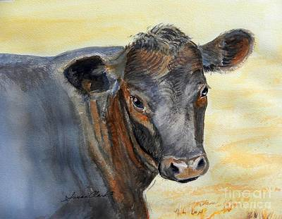 What Color Cocoa Print by Susan  Clark