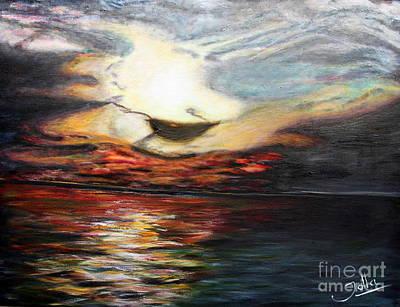 Vivid Colour Painting - What Dreams May Come.. by Jolanta Anna Karolska