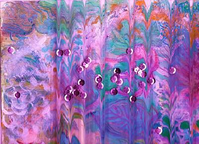 What Is Behind Curtain Print by Anne-Elizabeth Whiteway
