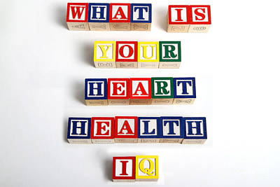 What Is Your Heart Health Iq Print by Photo Researchers, Inc.