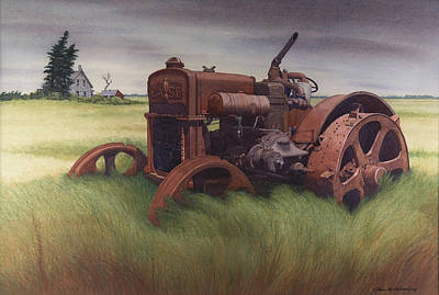 What Rust Hath Wrought  Print by Glen Heberling