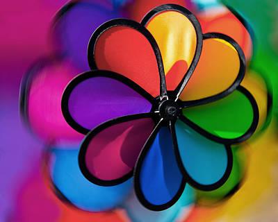 Eyal Photograph - Wheel Of Colors by Eyal Nahmias